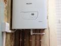 New Glow Worm boiler